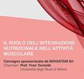 The role of nutritional integration in muscle activity