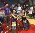 Sport is life! Basket in wheelchair: our boys won the silver medal!
