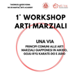 1° Workshop Arti Marziali